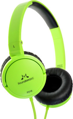 SoundMAGIC P21S headset zelená