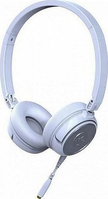 SoundMAGIC P30S headset bílá