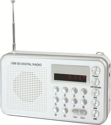 Soundmaster TR 150 stříbrný