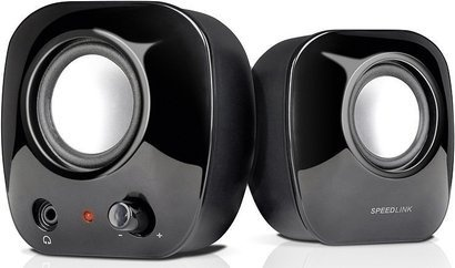 SPEED-LINK SNAPPY Stereo Speakers Black