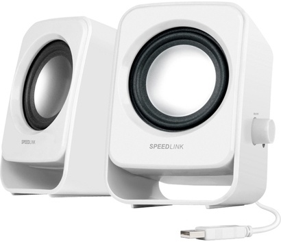 SPEED-LINK SNAPPY Stereo Speakers White