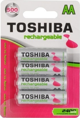 Toshiba BAT 2400 mAh TNH-6AE 4BP AA