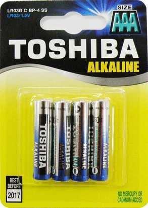 Toshiba BAT GR LR03 4BP AAA