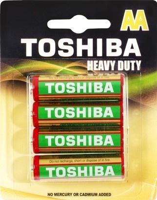 Toshiba BAT HEAVY DUTY R6 4BP AA
