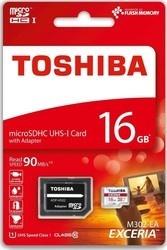 Toshiba MicroSDHC 16GB CL10 UHS1 + adaptér