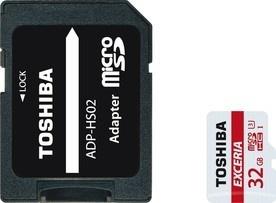 Toshiba MicroSDHC 32GB CL10 UHS1 + adaptér