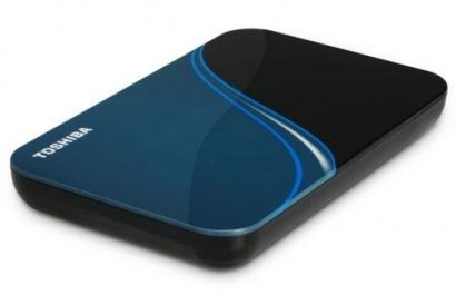 Toshiba Store Art 320GB Blue