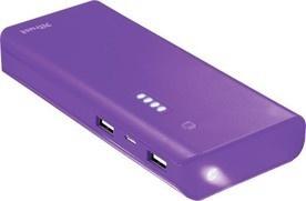 TRUST PRIMO Power bank 10000 mAh purple