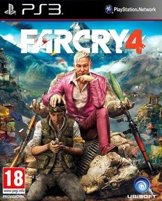 Ubisoft Far Cry 4 hra PS3
