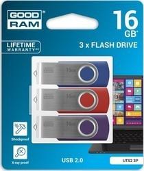 Goodram USB FD 16GB 3x TWISTER USB 2.0
