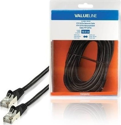 VALUELINE VLCB85110B100 FTP CAT5e, 10m