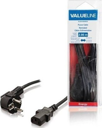 VALUELINE VLEB10000B20 IEC-320-C13, 2m