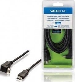 VALUELINE VLVB34200B20 HDMI-90°HDMI, 2m