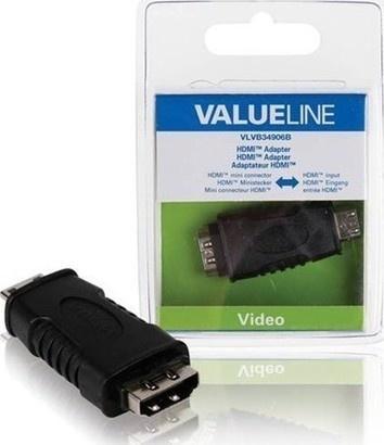 VALUELINE VLVB34906B miniHDMI, adaptér