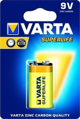 VARTA 6F22 1BL 9 V Superlife Zn