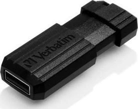 Verbatim 49065 64GB PinStripe černá