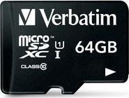 Verbatim microSDXC 64GB Class10 adap.