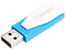 Verbatim USB FD 8GB Swivel Blue
