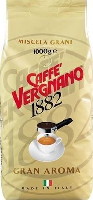 Vergnano Gran Aroma 1000g zrnková káva