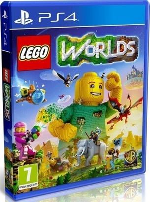 WARNER BROS. LEGO Worlds hra PS4 Warner Bros