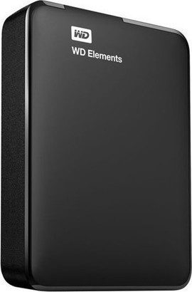 WD Elements Portable 4TB Black