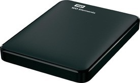 WD HDD 1,5TB USB3.0 Black Elements