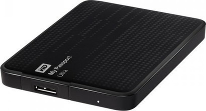 WD HDD 1TB USB3.0 Passport ULTRA Black