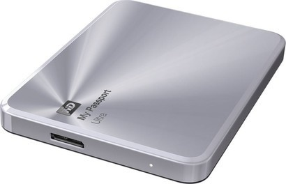 WD HDD 1TB USB3.0 Passport Ultra Metal