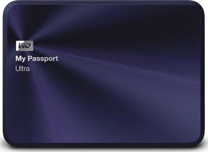 WD HDD 2T USB3.0 Passport Ultra Metal BB
