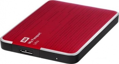 WD HDD My Passport ULTRA 2.5 1TB Red