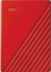 WD My Passport Portable 4TB Red