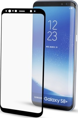 Yenkee YPG 3D03 3D ochranné sklo Galaxy S8+BK