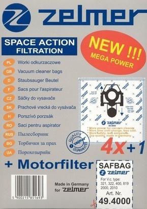 Zelmer ZVCA100B sáčky SAF-BAG