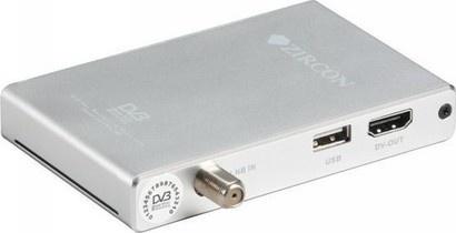 Zircon mini Box stříbrný