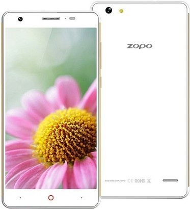 Zopo ZP720 Focus White/Gold