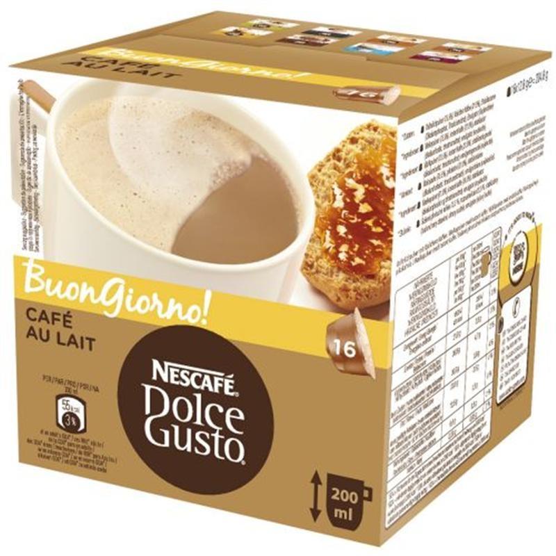 Nescafé Dolce Gusto Café Au Lait 16 ks