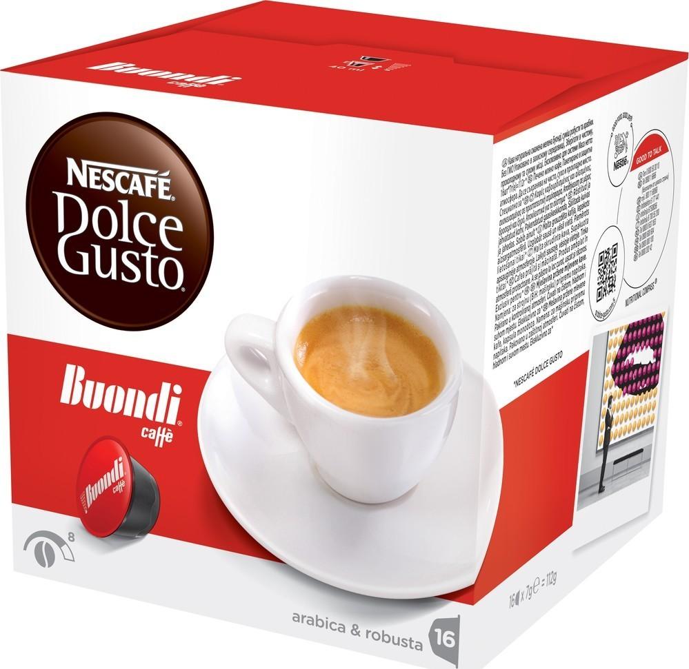 Nescafé Dolce Gusto Espresso Buondi