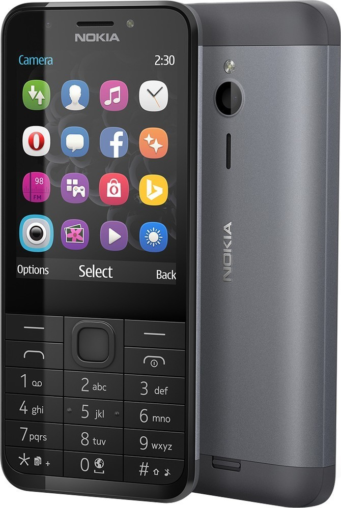 Nokia 230 DS Dark Silver