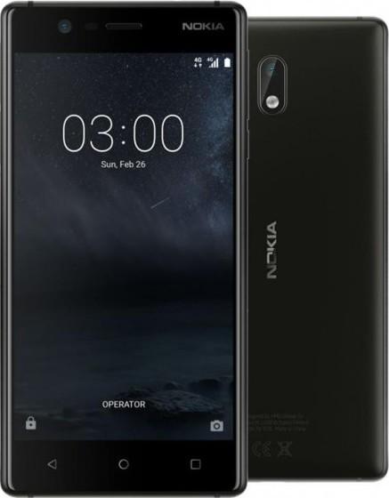 Nokia 3 SS Black