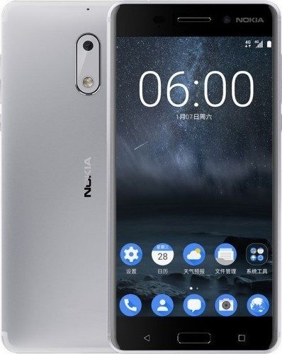 Nokia 6 DS Silver