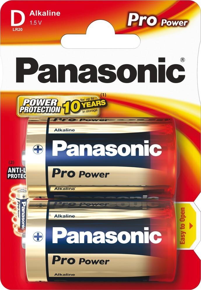 Panasonic LR20 2BP D Pro Power alk