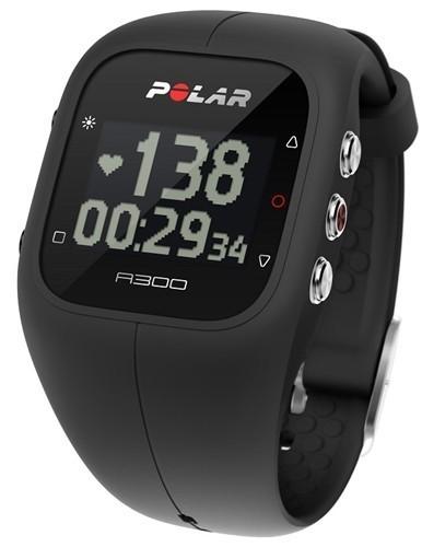 Polar A300 HR černý