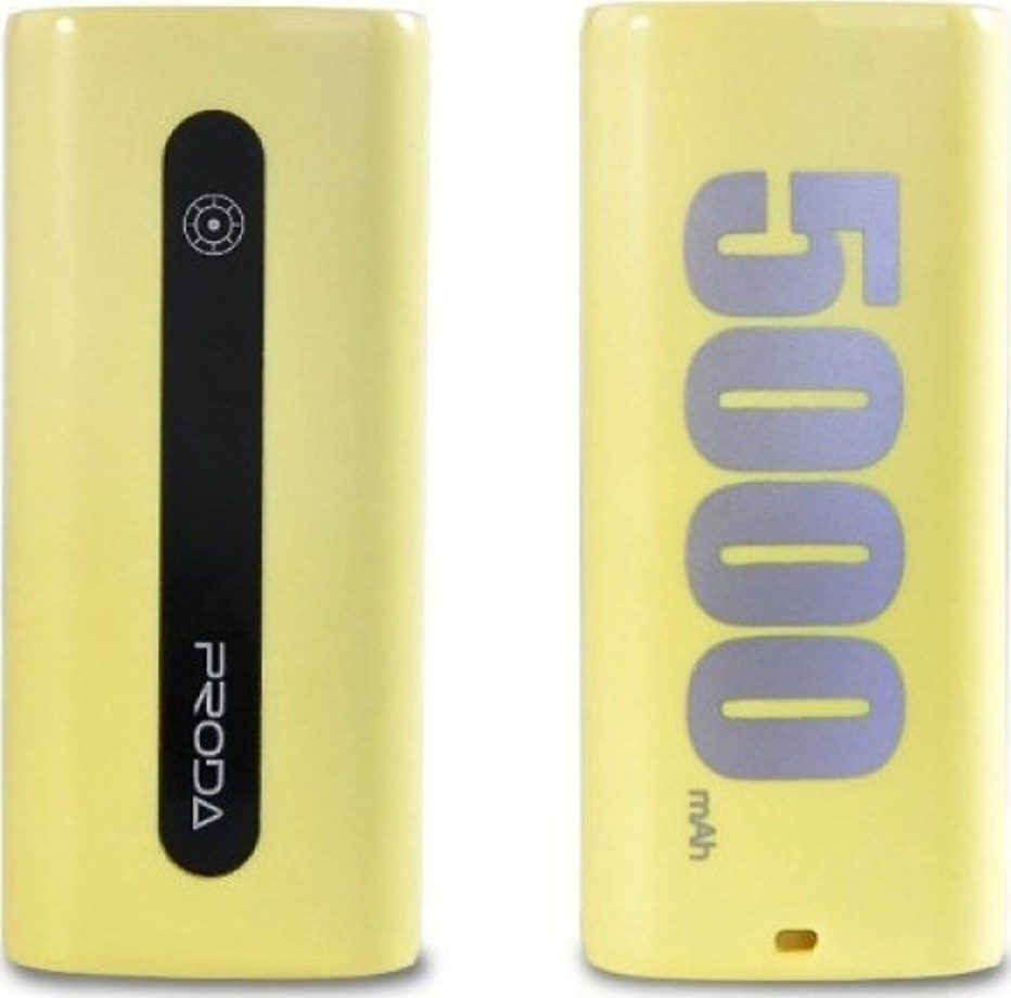 REMAX Power Bank Proda E5 5000mAh Žlutá