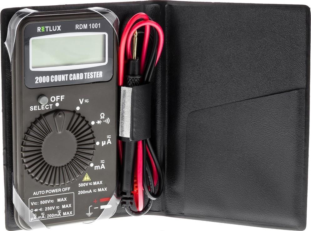 RETLUX RDM 1001 Digitální multimetr