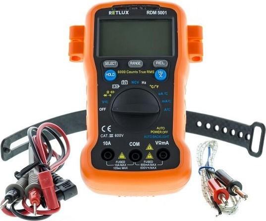 RETLUX RDM 5001 Digitální multimetr