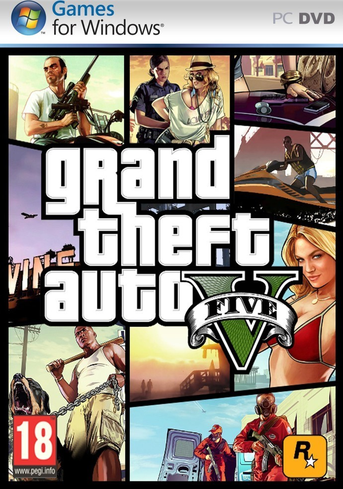 Rockstar Games Grand Theft Auto V PC