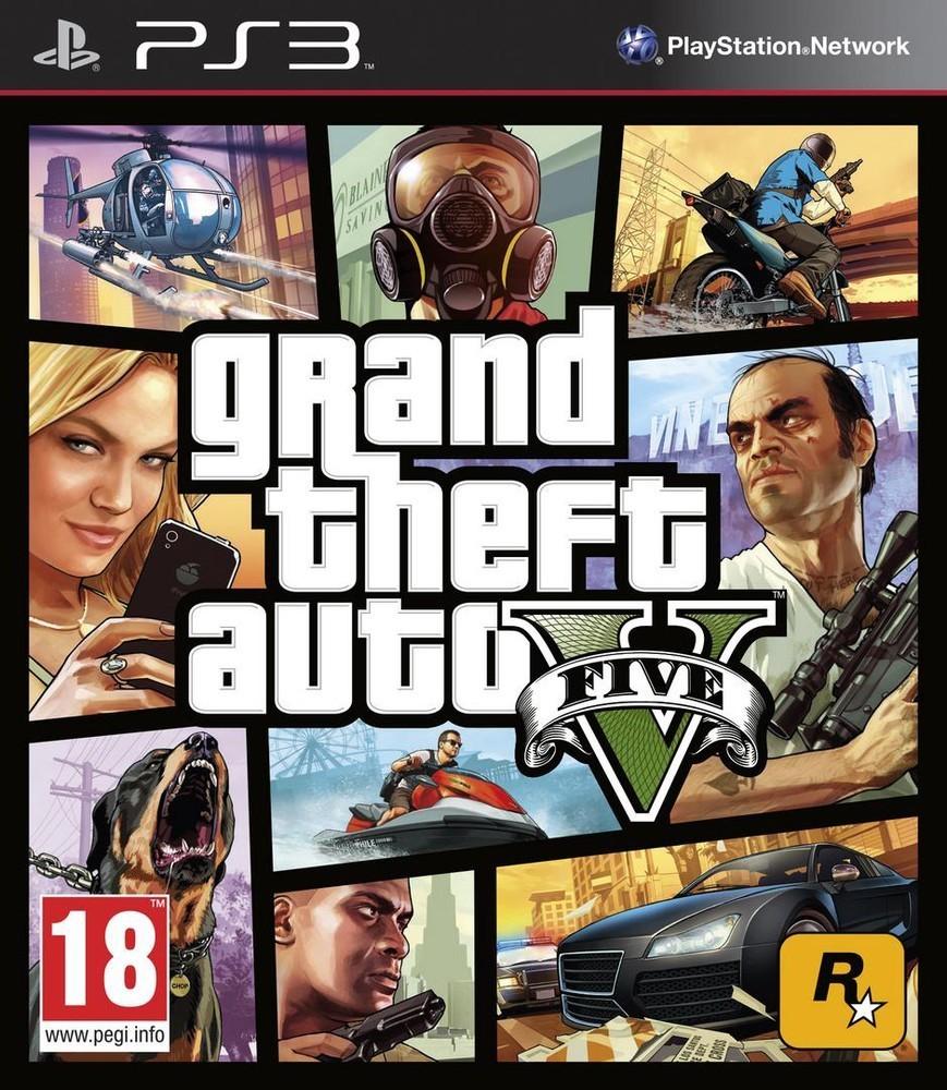 Rockstar Games Grand Theft Auto V PS3