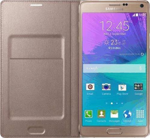 Samsung EF WJ320PF Flip J320 Gold