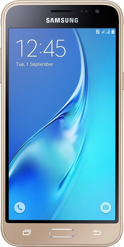 Samsung SM J320 Galaxy J3 2016 DS Gold