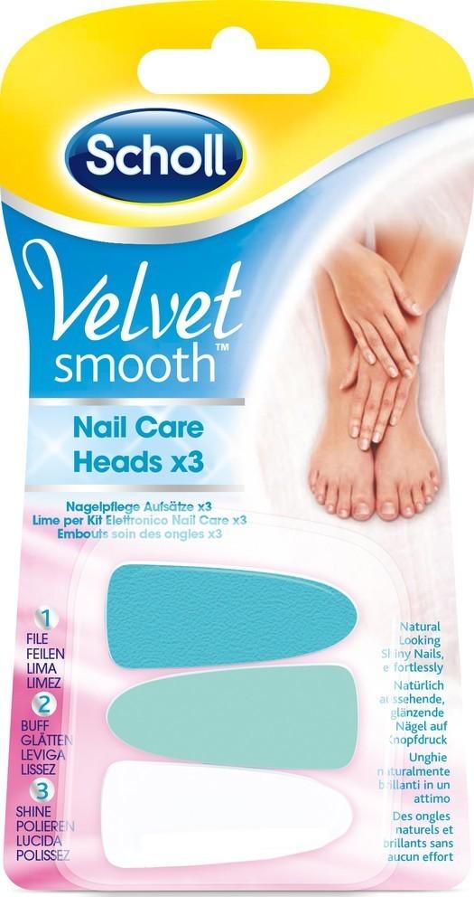 Scholl Velvet Smooth hlav. na nehty